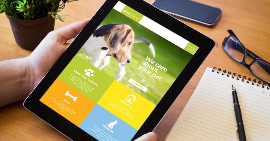 קידום אתרים לחנות חיות מותאם למובייל